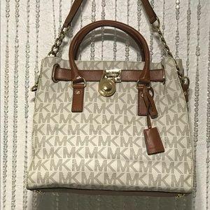 Michael Kors Hamilton Logo Handbag